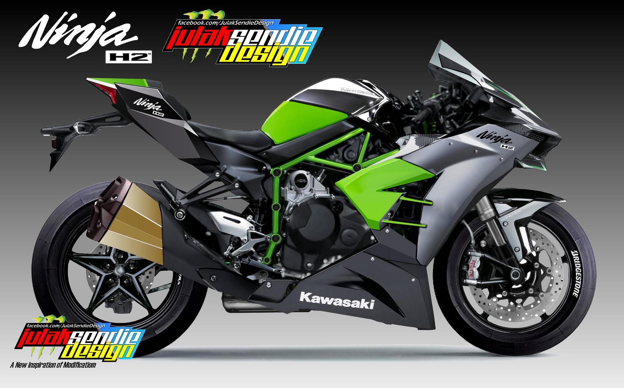 99 Gambar Motor Ninja H 2 Terkeren Obeng Motor